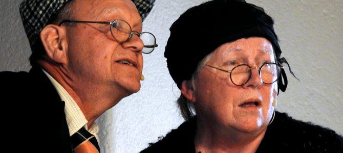 Folklustspel…Ellen och Alfred. Söndag 11 Juni Tians Gård,
