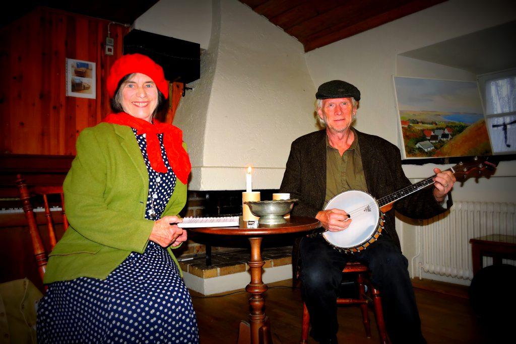 Rosie och Mats Henning..