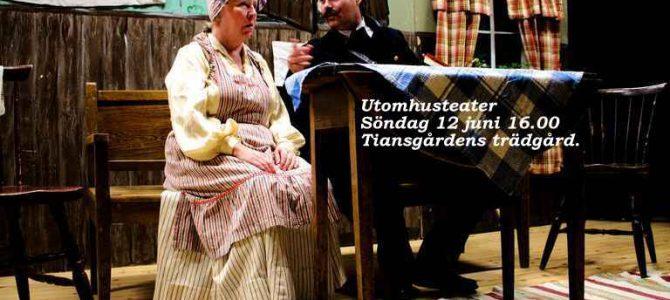 Teater Tiansgårdens trädgård 12 juni 16.00