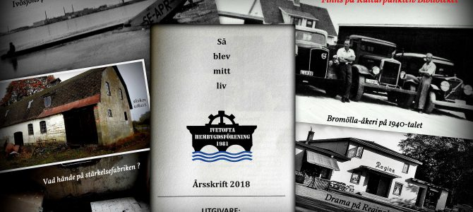 """Årsskrift 2018 """"Så blev mitt liv""""  är nu utgiven…"""