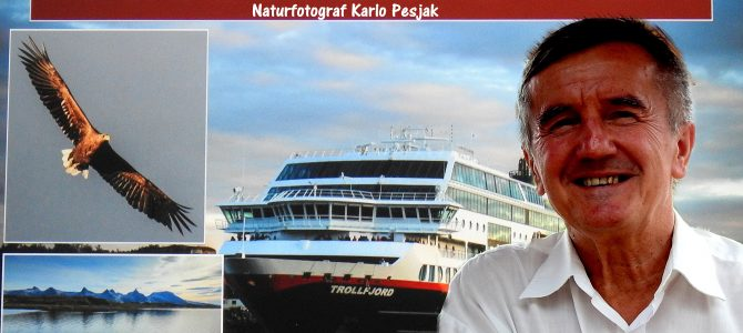 "KARLO PESJAK, NATURFOTOGRAFEN. ""Hurtigruten"""