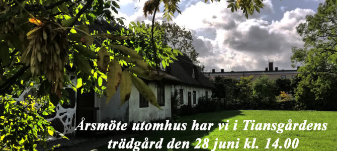 Årsmöte utomhus Ivetofta Hembygdsförening 2020