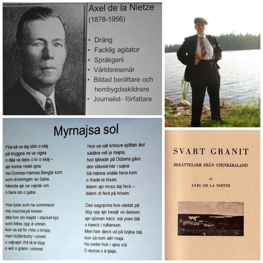 Världsresenären och författare Axel de la Nietze..