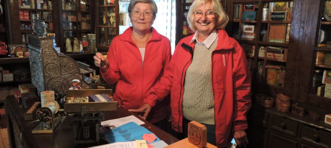 Långväga turister besökte Brukshusens museum…